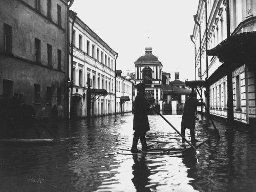 Зарядье, Мокринский переулок, 1908