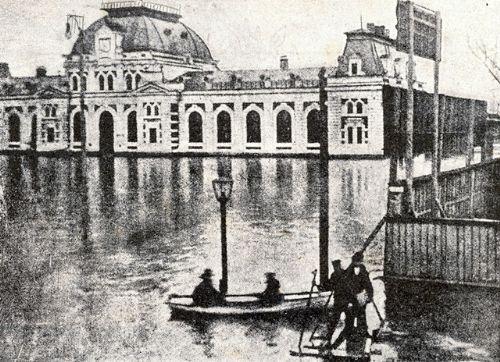Здание Павелецкаго вокзала